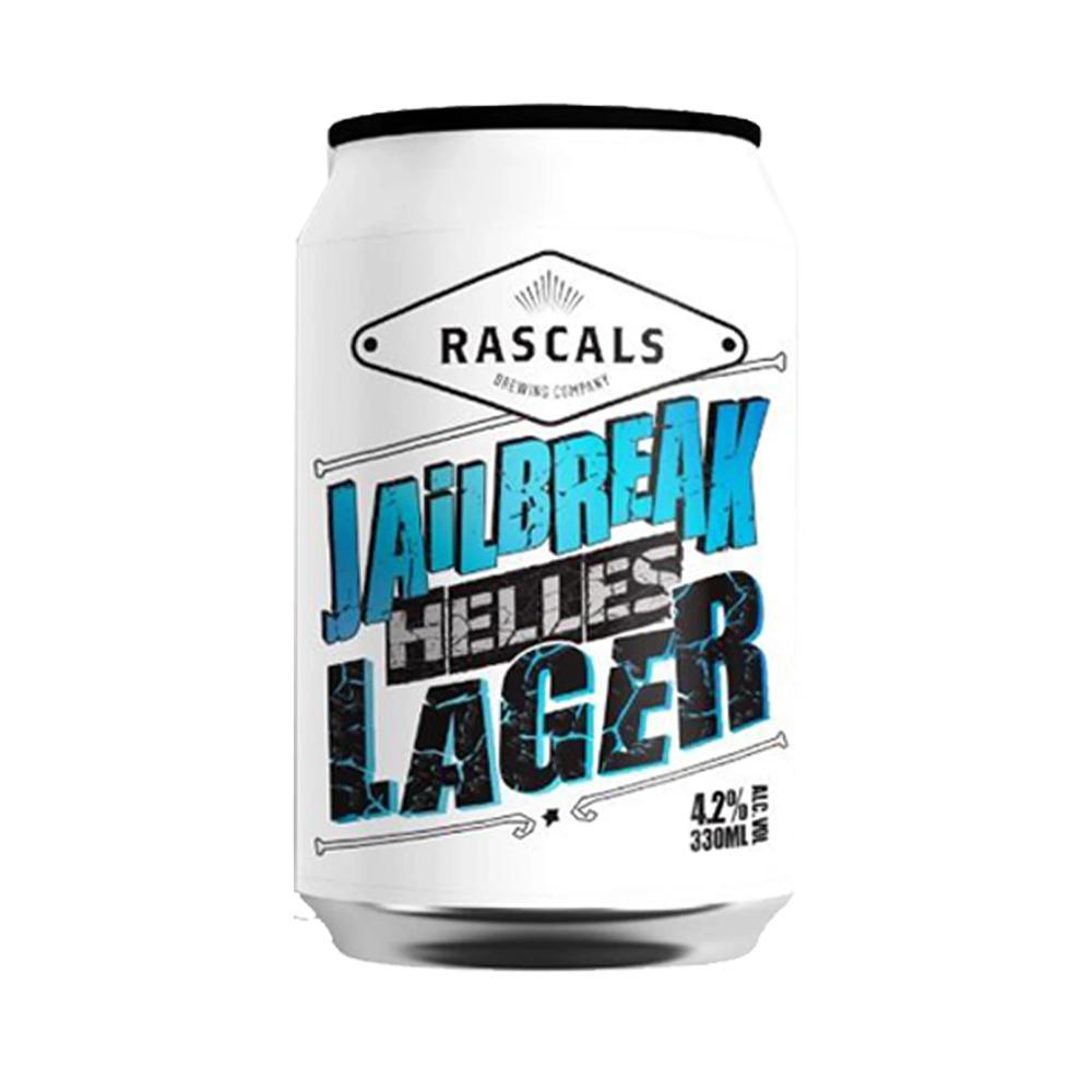Rascals Jailbreak Helles Lager 330ml Can