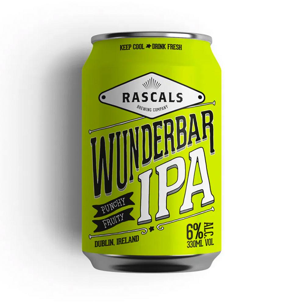 Rascals Wunderbar IPA 330ml Can