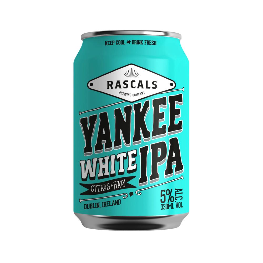 Rascals Yankee White IPA Can 330ml