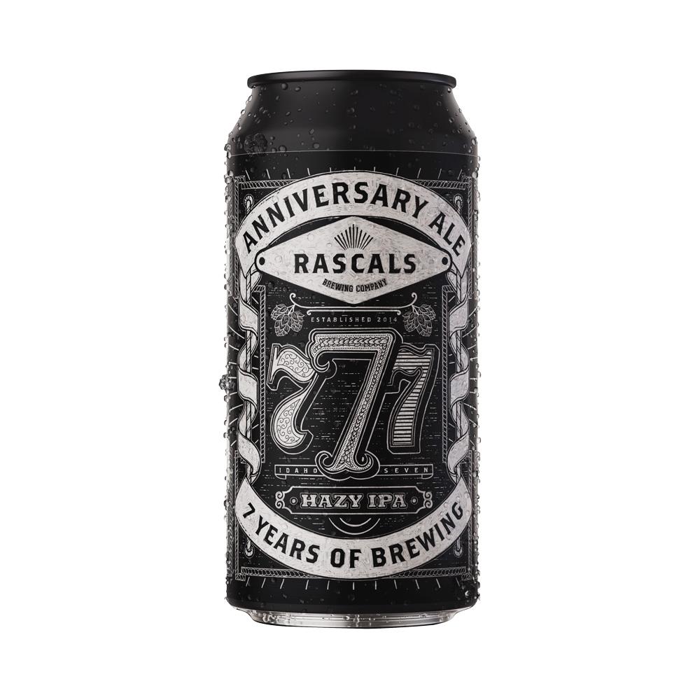 Rascals 777 Hazy IPA 440ml
