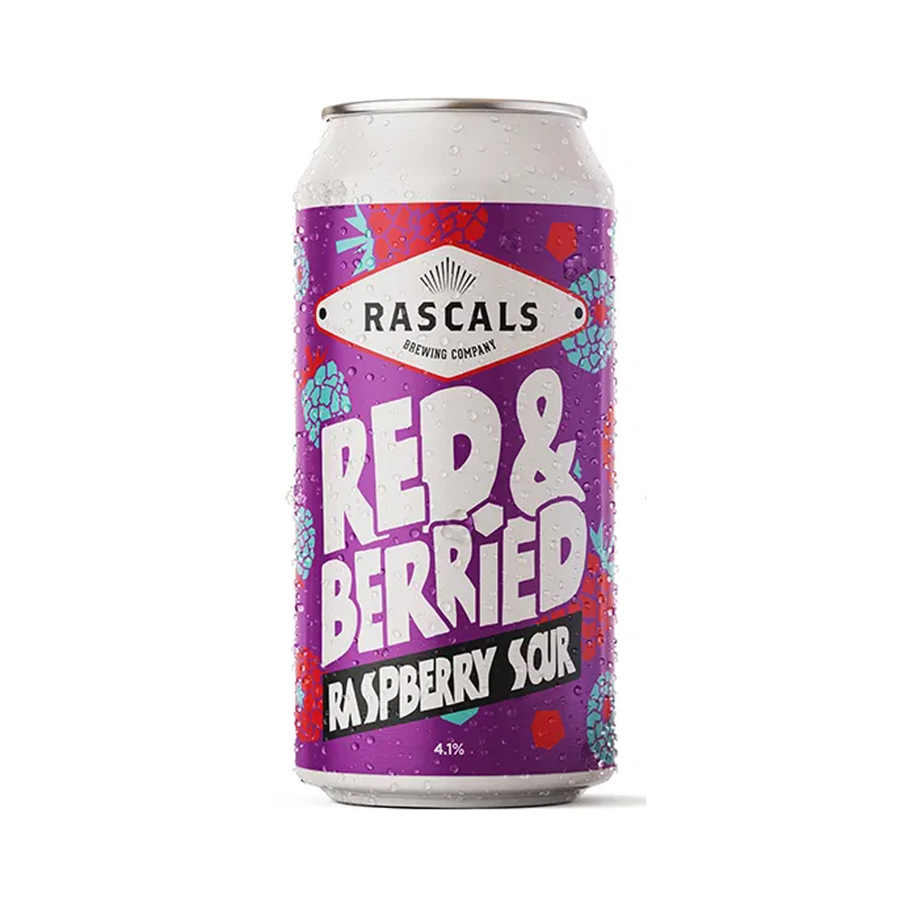 Rascals Red & Berried Sour 440ml