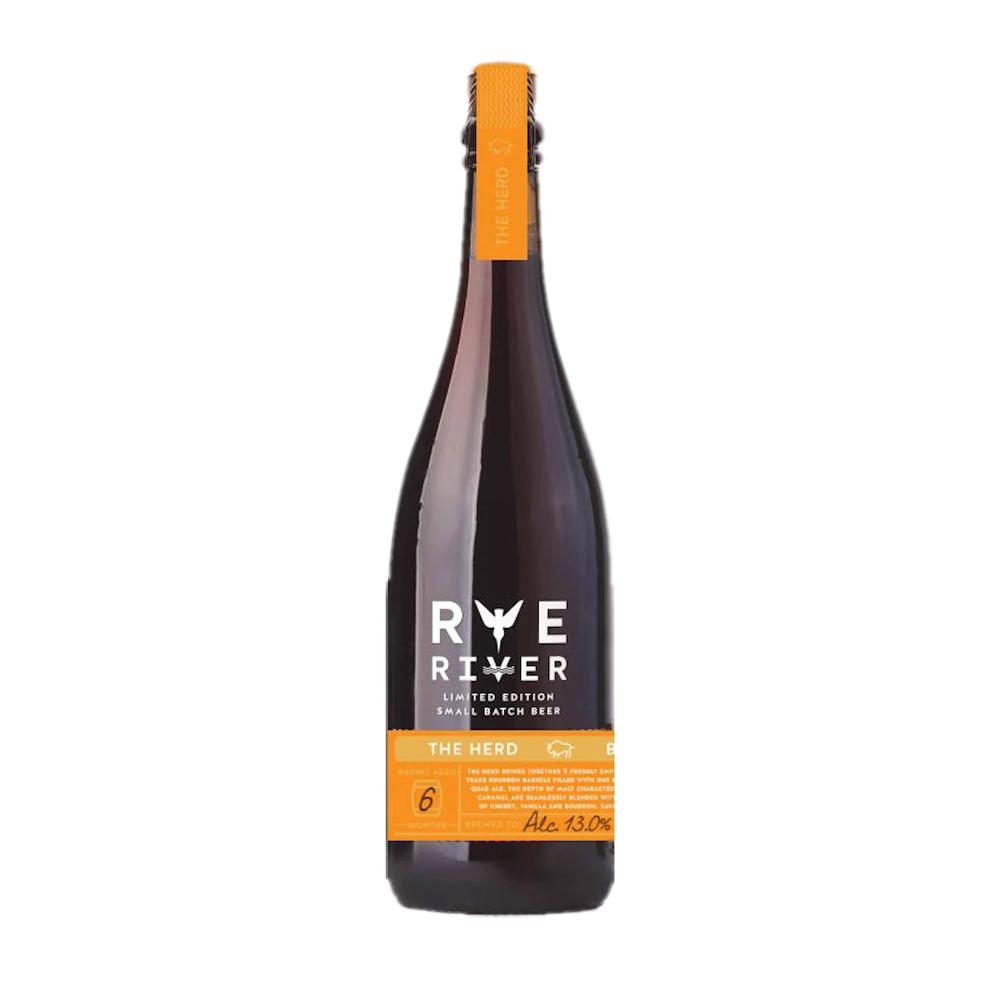 Rye River The Herd Bourbon Barrel Aged Quadrupel 750ml