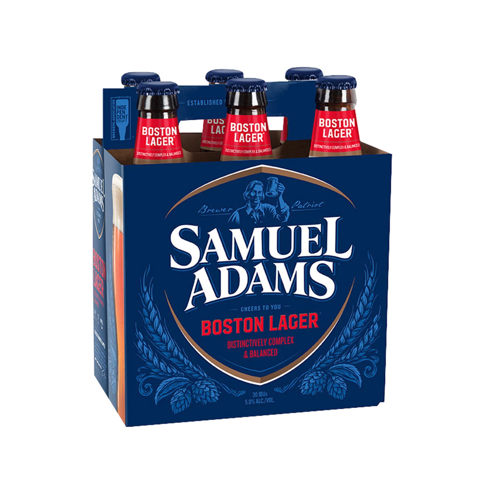 Sam Adams Boston Lager 6-Pack 355ml