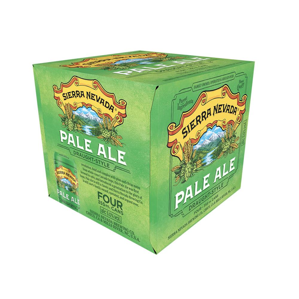 Sierra Nevada Pale Ale 355ml Can 4-pack