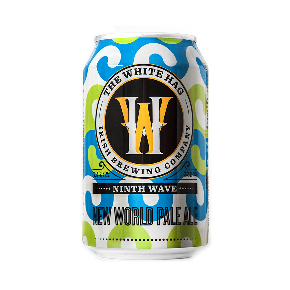 White Hag 'Ninth Wave' New World Pale Ale 330ml Can