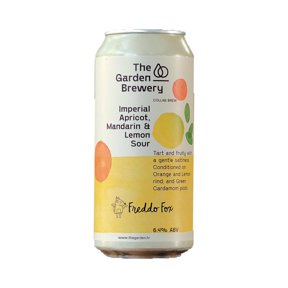 The Garden Imperial Apricot, Mandarin & Lemon Sour 440ml