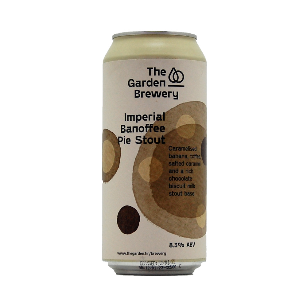 The Garden Imperial Banoffee Pie Stout 440ml