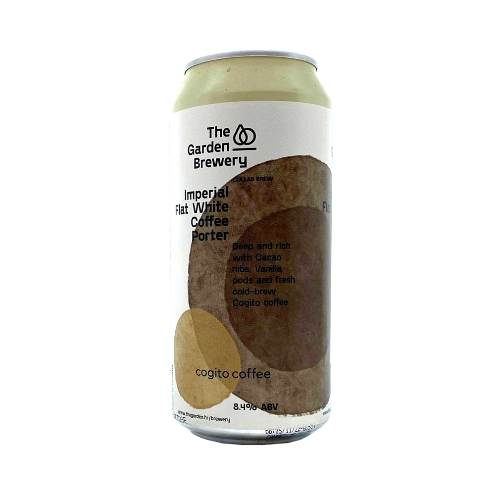 The Garden Imperial Flat White Coffee Porter 440ml