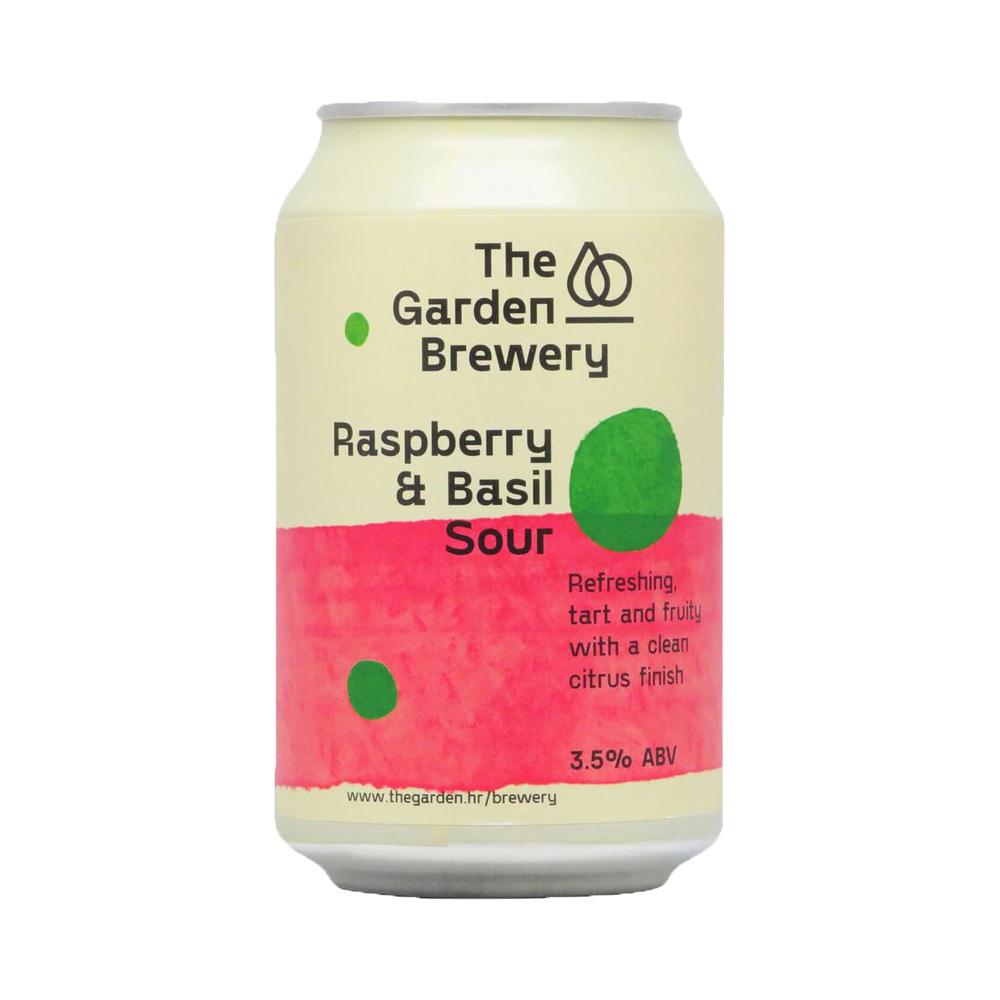 The Garden Raspberry & Basil Sour 330ml