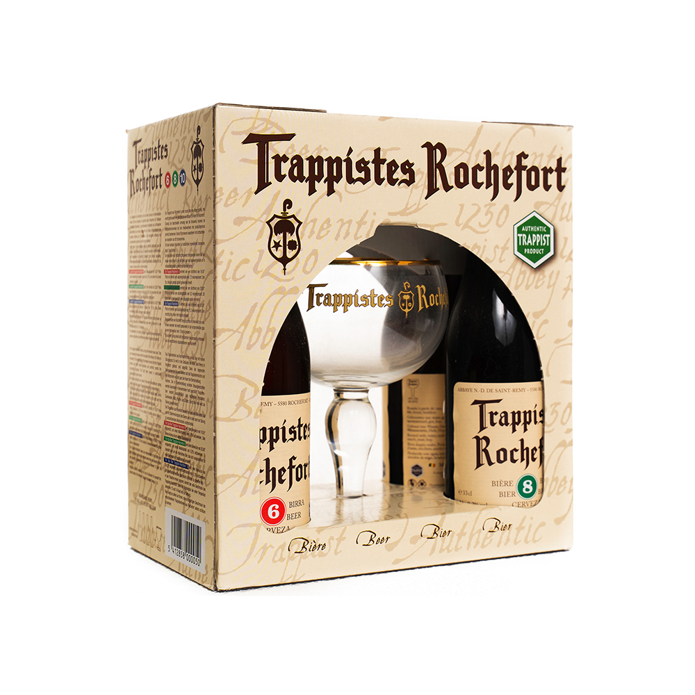 Trappistes Rochefort Glass Pack