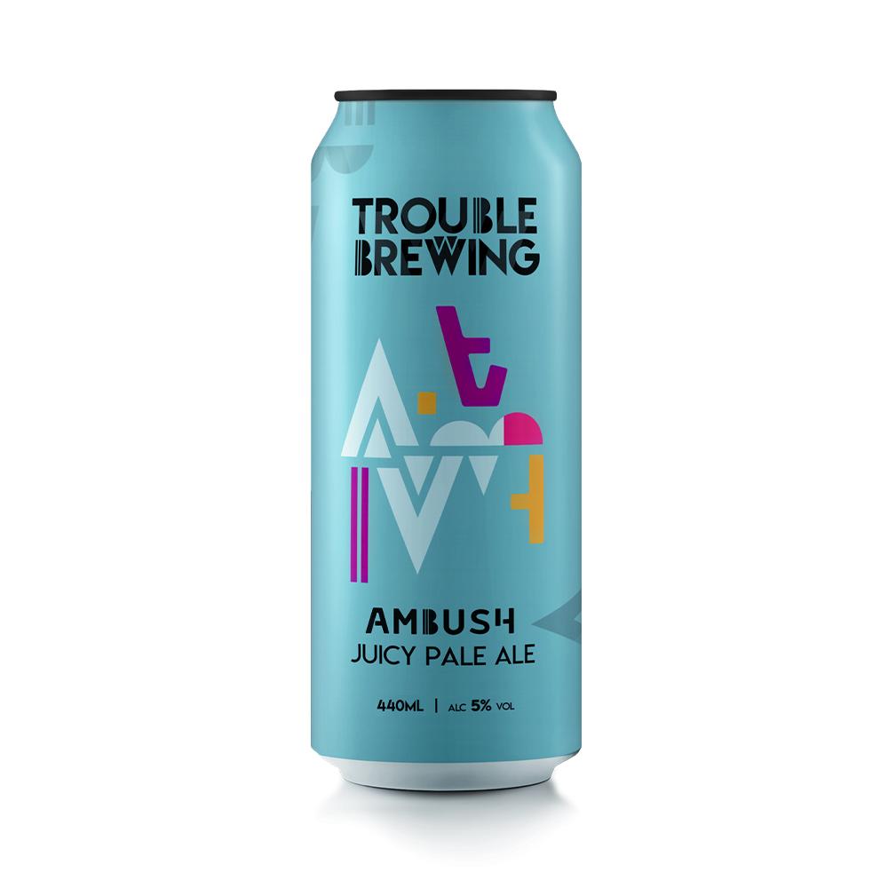 Trouble Brewing Ambush Juicy Pale Ale 44cl Can