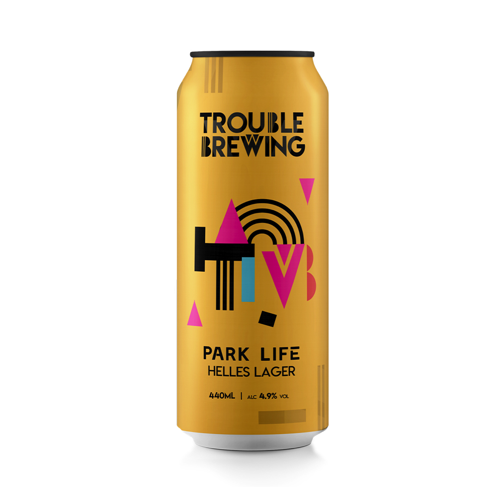 Trouble Brewing Parklife Helles Lager 44cl Can
