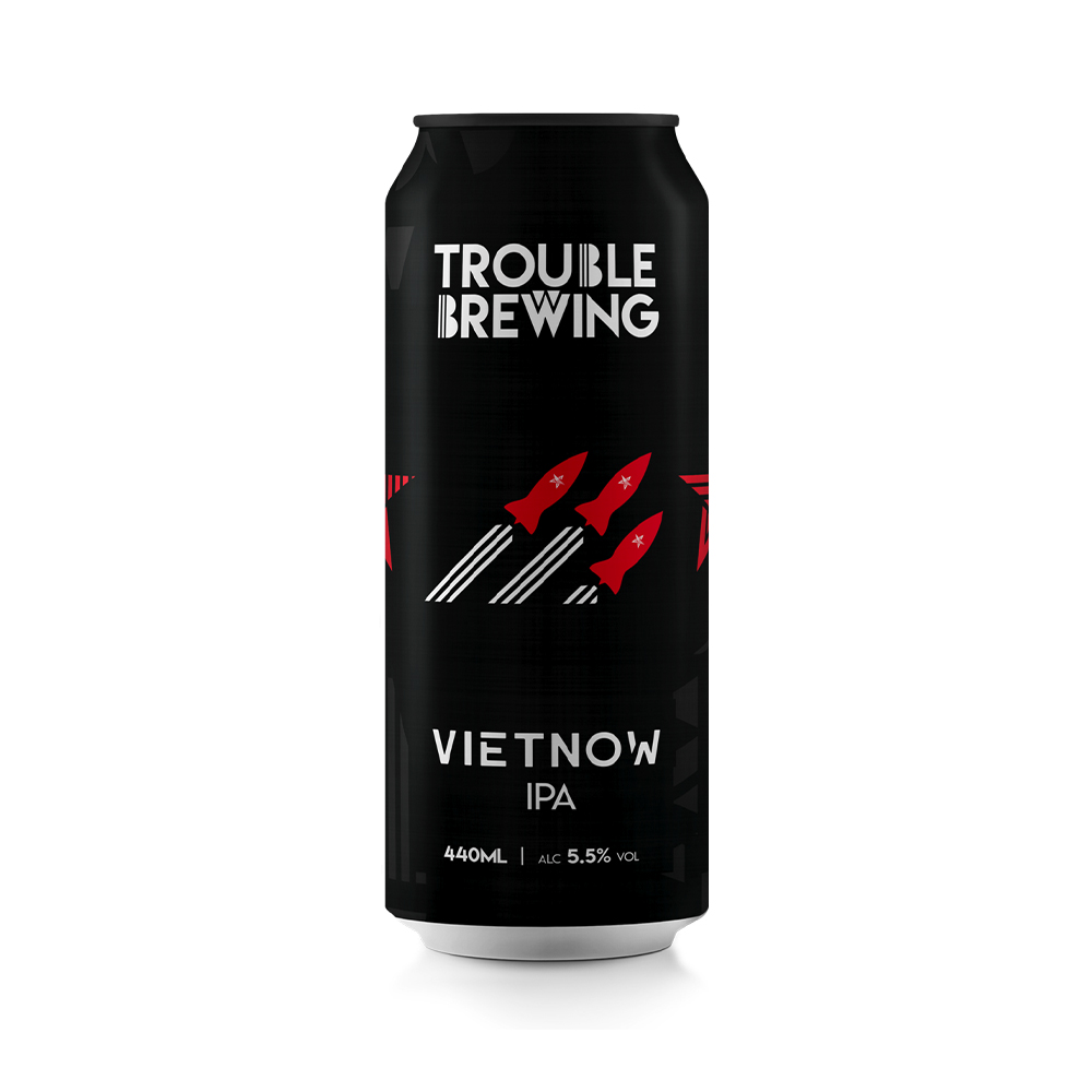Trouble Brewing Vietnow IPA 440ml Can