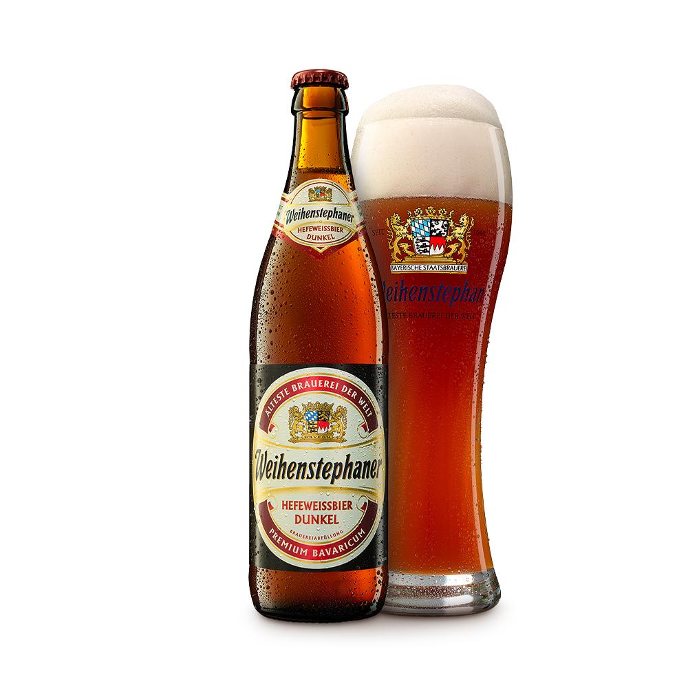 Weihenstephaner Hefeweissbier Dunkel 500ml