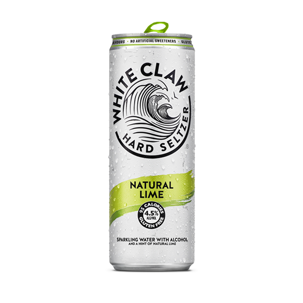 White Claw Natural Lime 330ml