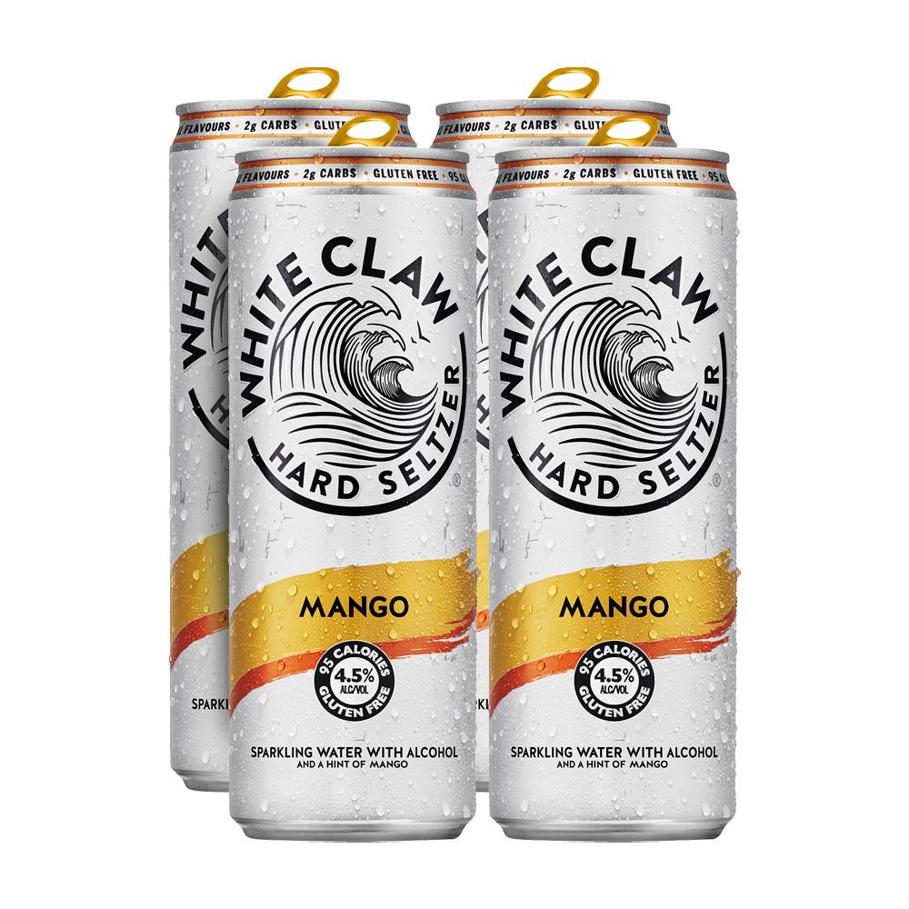 White Claw Mango 4-Pack 330ml