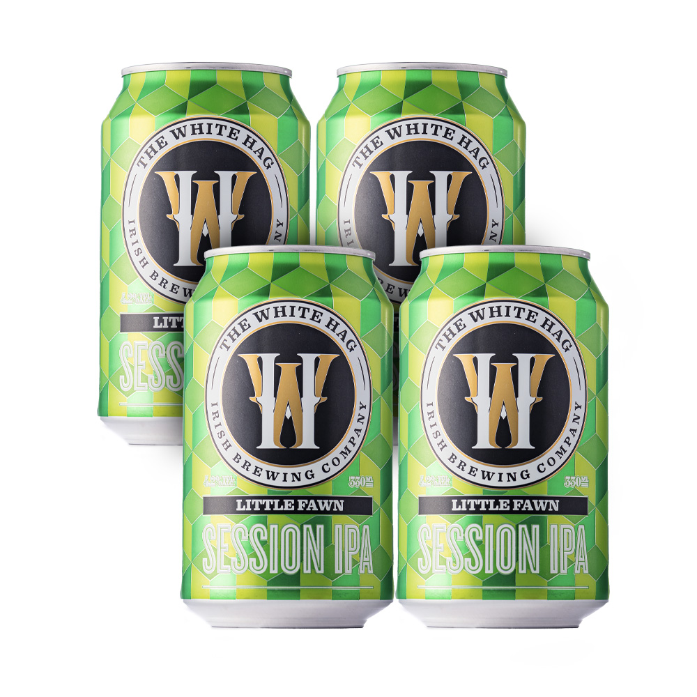 White Hag Little Fawn Session IPA 4-Pack 330ml Can
