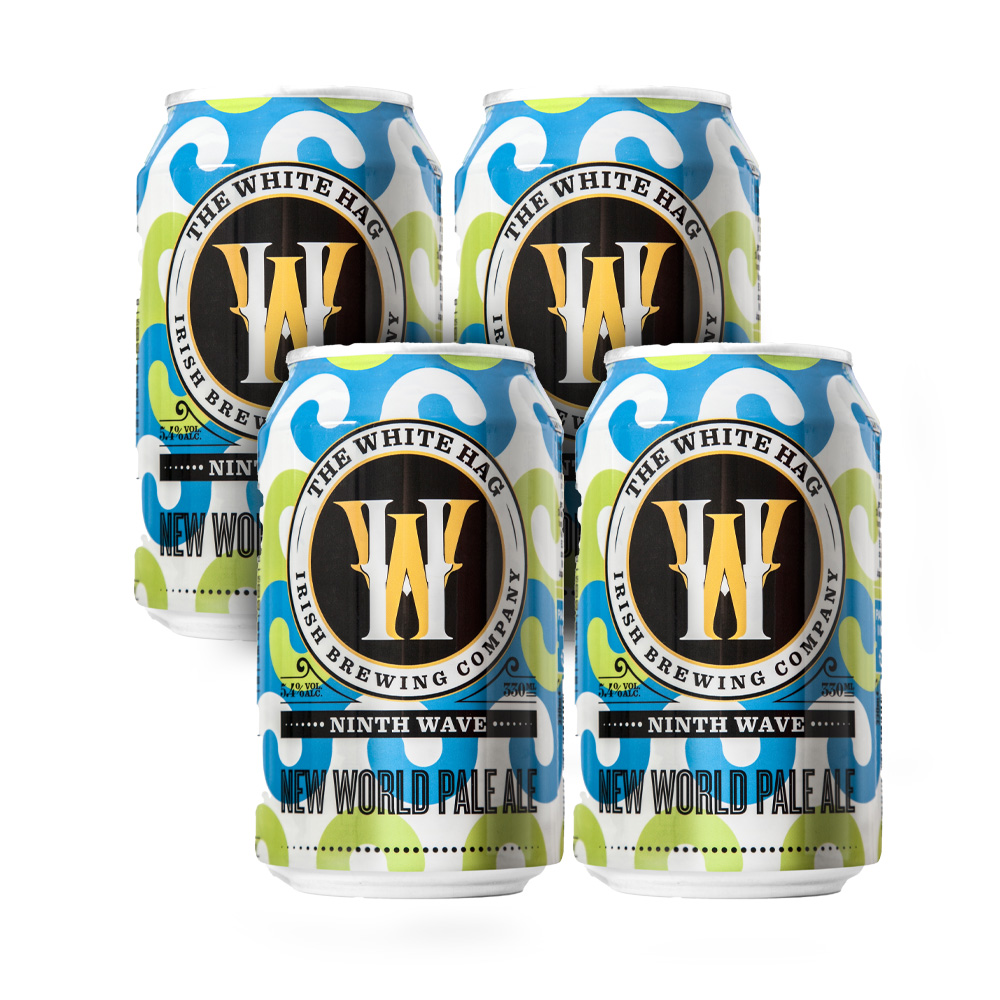 White Hag Ninth Wave New World Pale 4-Pack 330ml Can