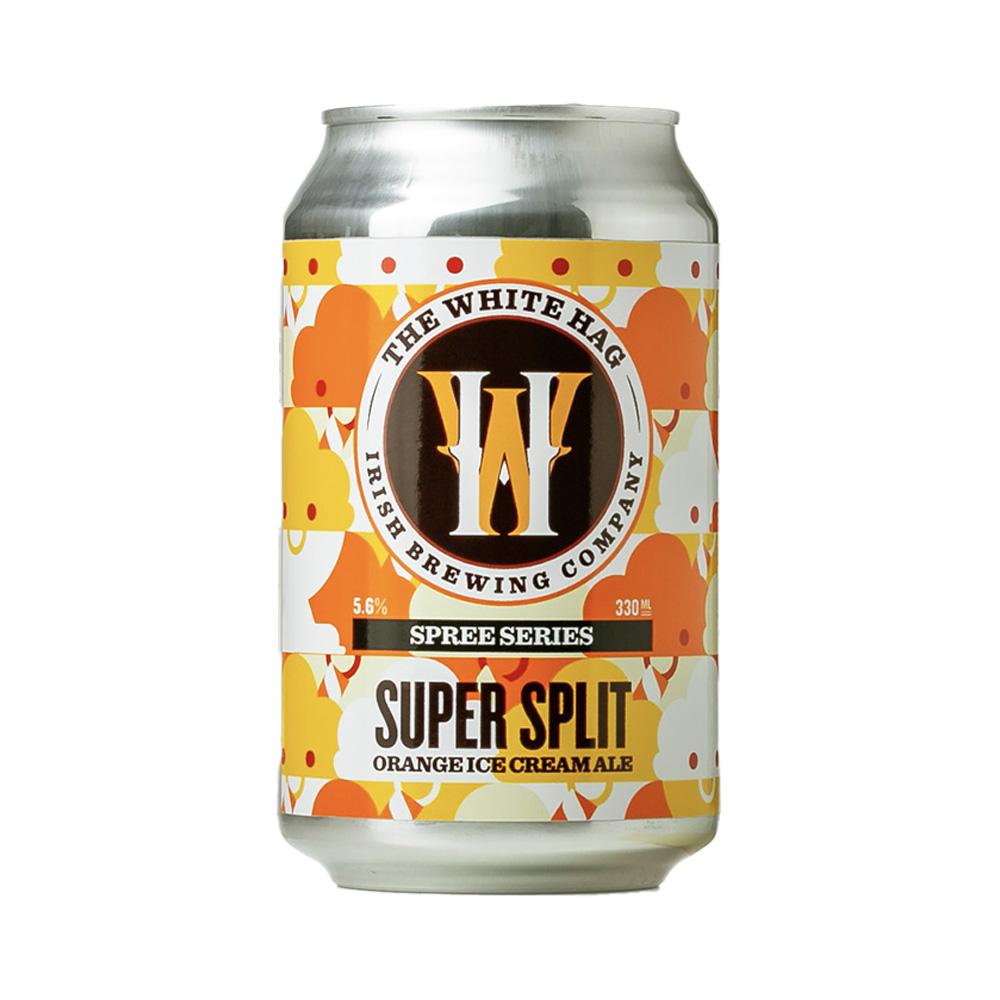 White Hag Super Split Orange Ice Cream Ale 330ml