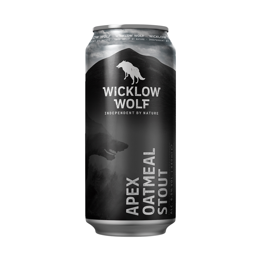 Wicklow Wolf Apex Oatmeal Stout 440ml Can