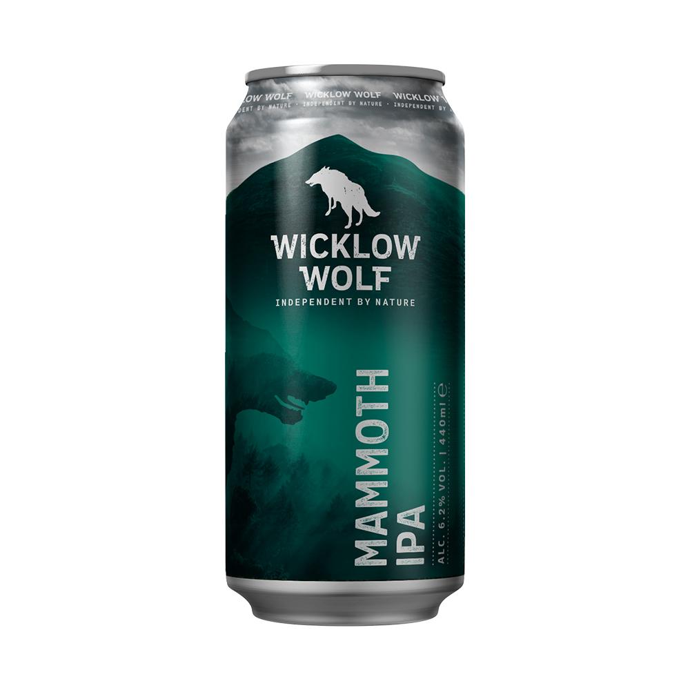 Wicklow Wolf Mammoth IPA 440ml Can