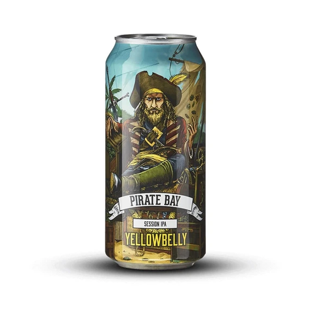 Yellowbelly Pirate Bay Session IPA 440ml