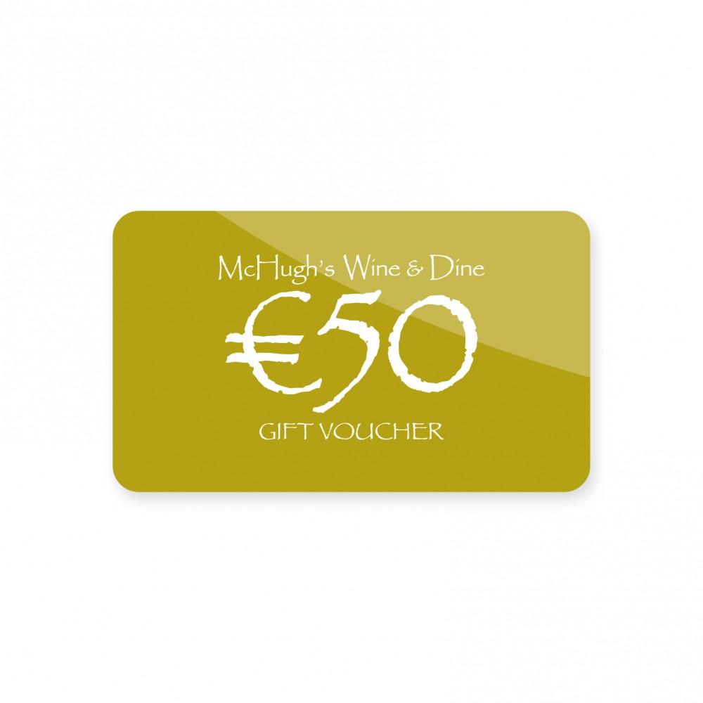 €50 Restaurant Gift Voucher