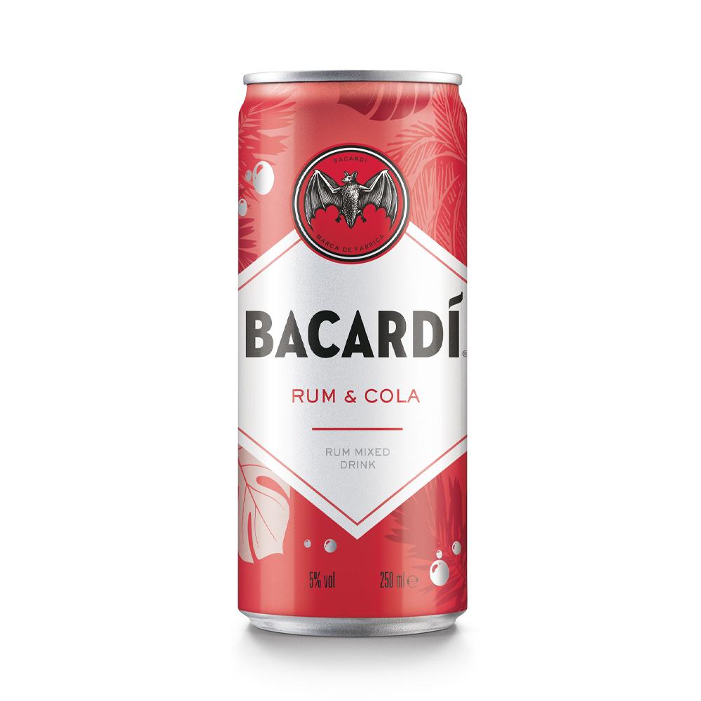 Bacardi & Cola 250ml