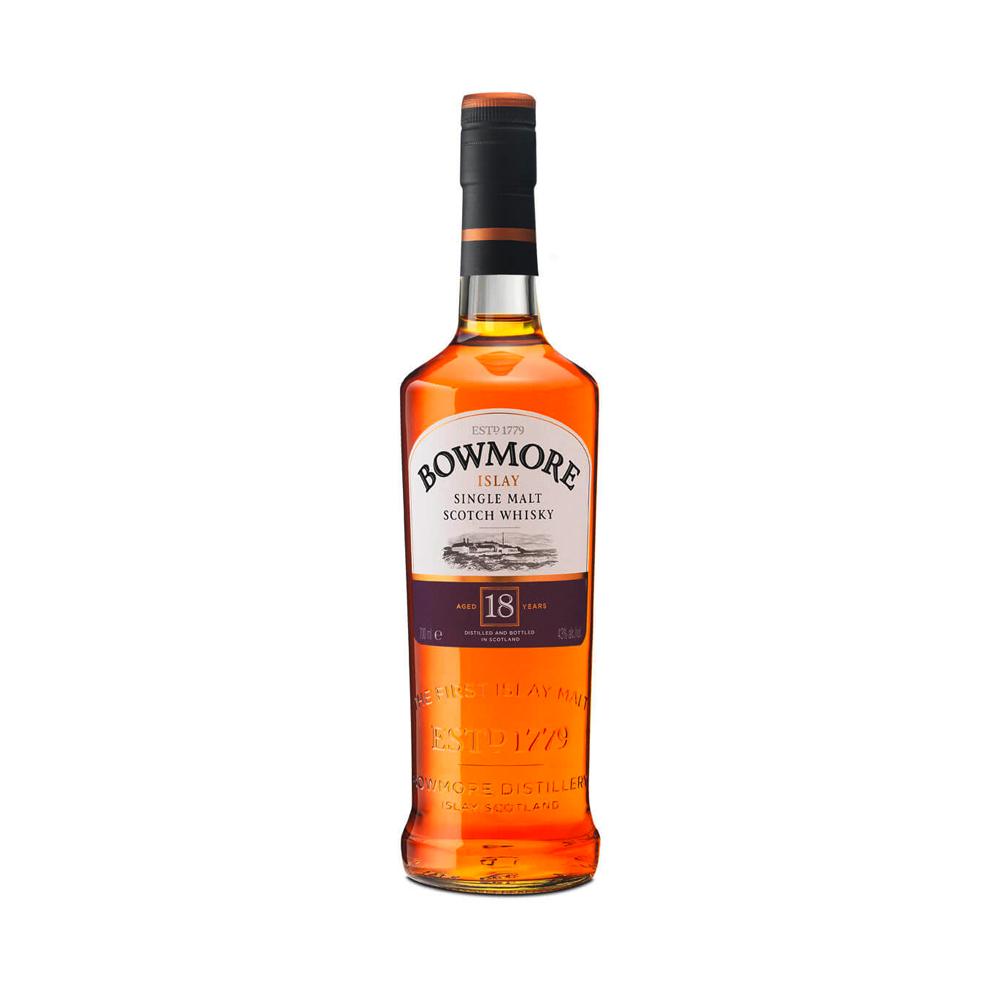 Bowmore 18 Year Old Single Malt Scotch Whisky 700ml