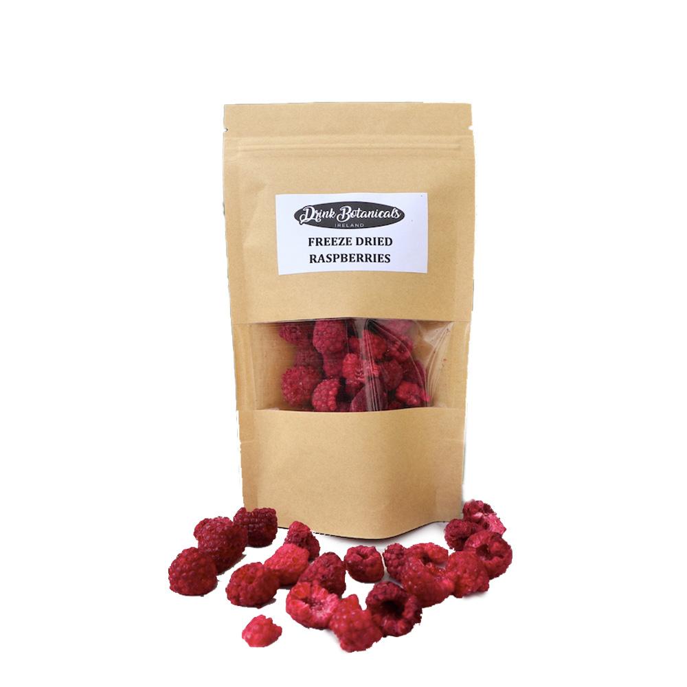 Drink Botanicals Freeze-Dried Raspberries 30g
