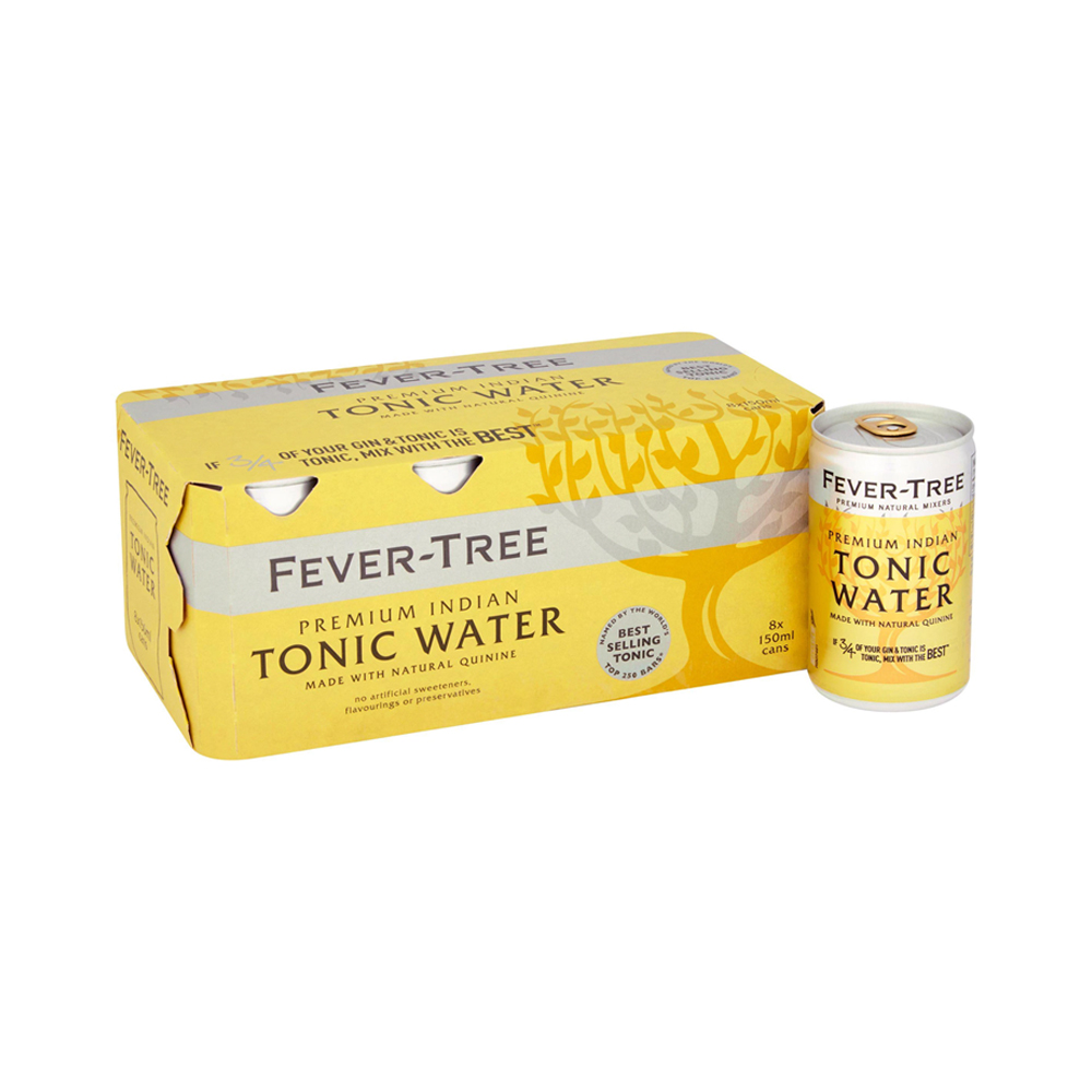 Fever-Tree Indian Tonic Water 150ml 8-Pack