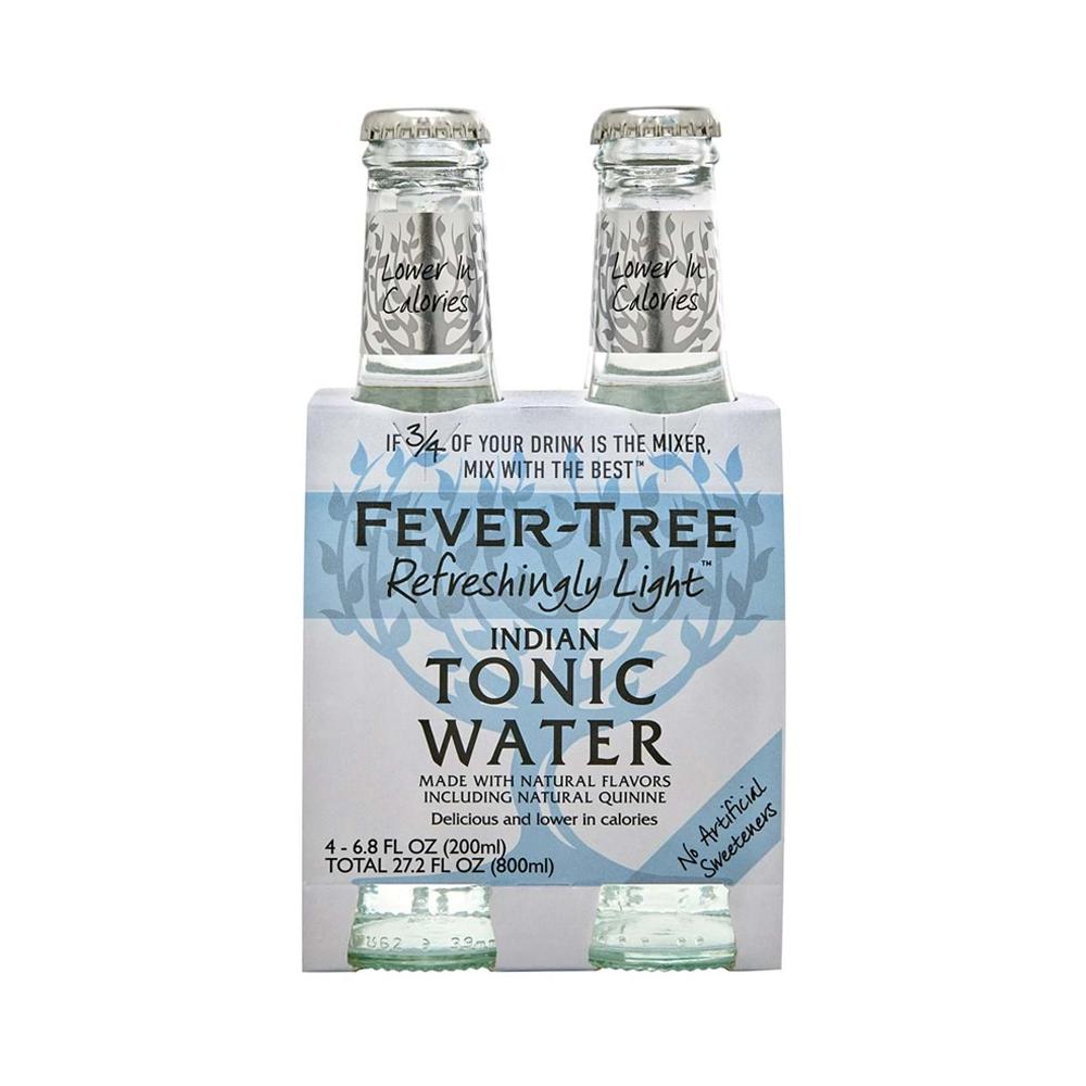 Fever-Tree Light Tonic Water 200ml 4-Pack