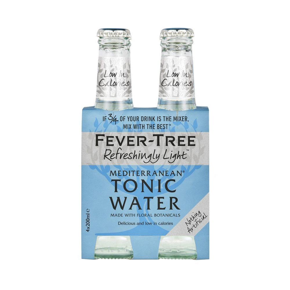 Fever-Tree Mediterranean Tonic Water 200ml 4-Pack