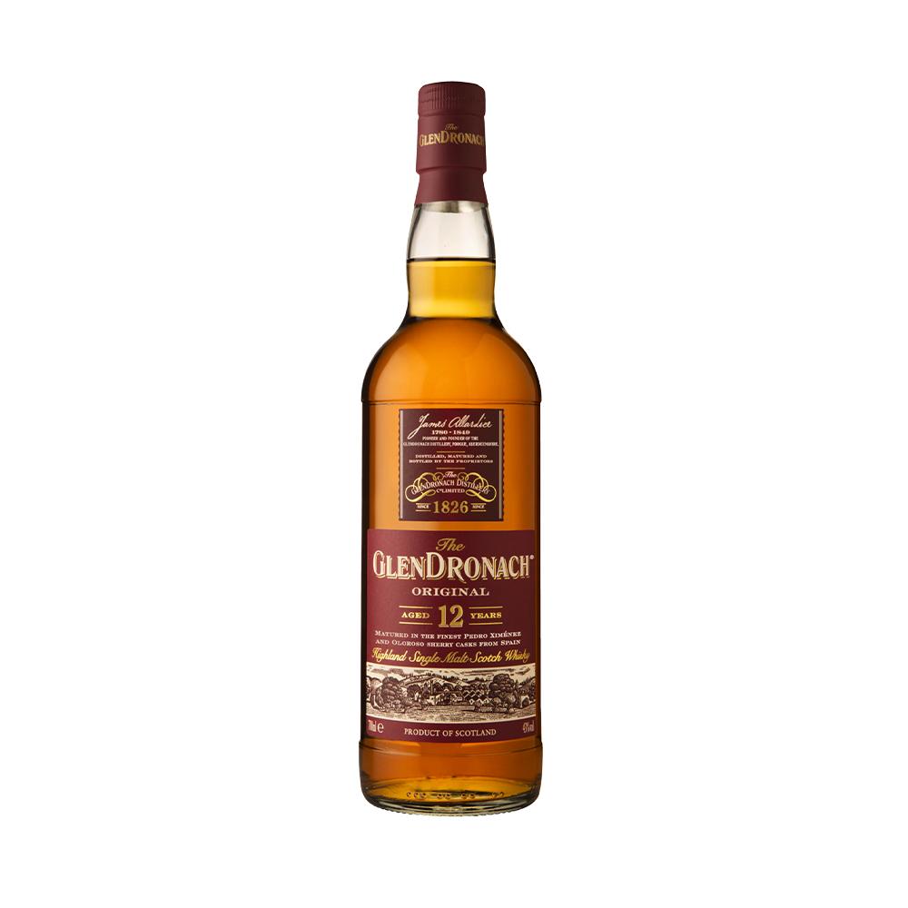 Glendronach 12 Year Old Single Malt Scotch Whisky 700ml