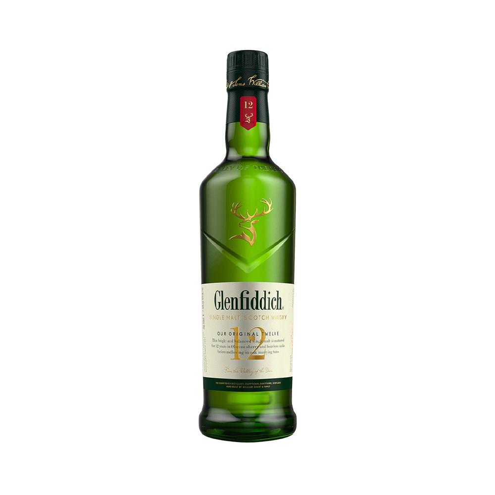 Glenfiddich 12 Year Old Single Malt Scotch Whisky 700ml