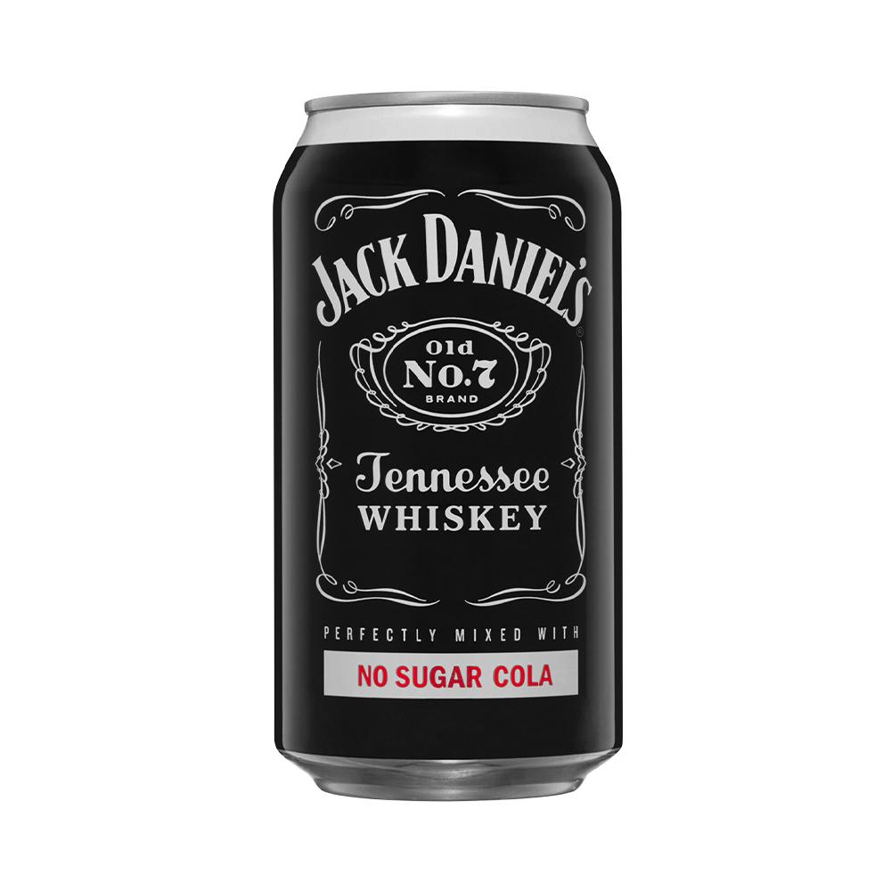 Jack Daniels & No Sugar Cola 330ml