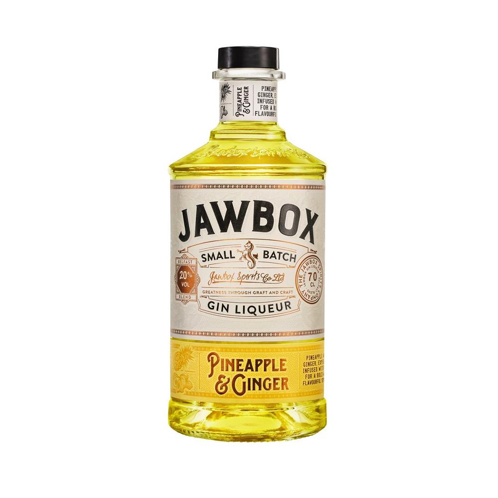 Jawbox Pineapple & Ginger Gin Liqueur 700ml