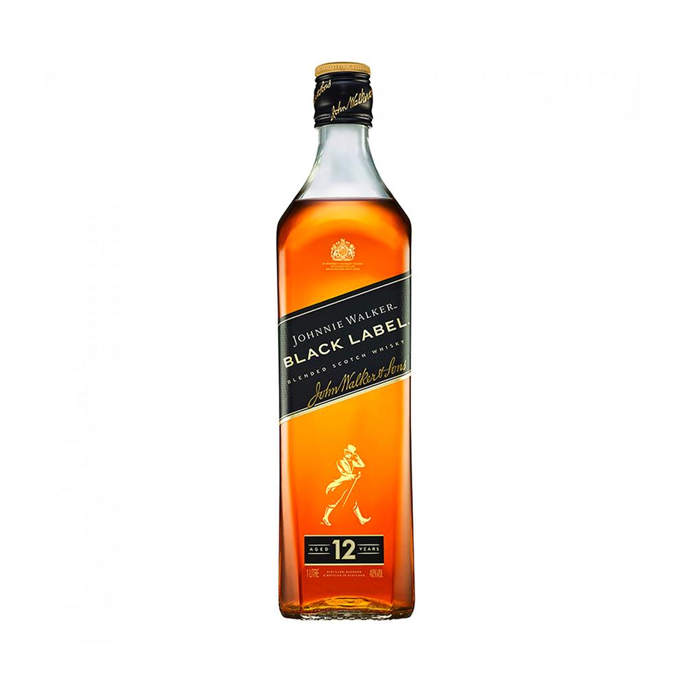 Johnnie Walker Black Label 12 Year Old Scotch Whisky 700ml