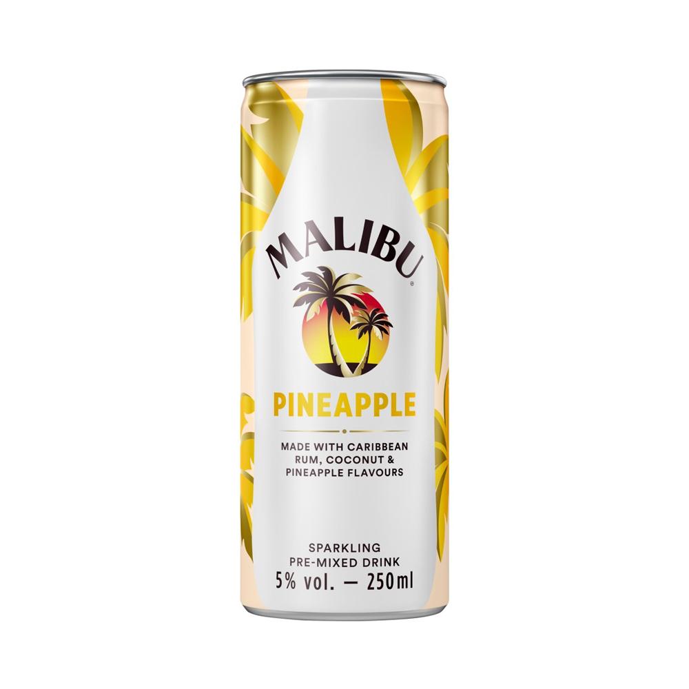 Malibu Sparkling Pineapple 250ml
