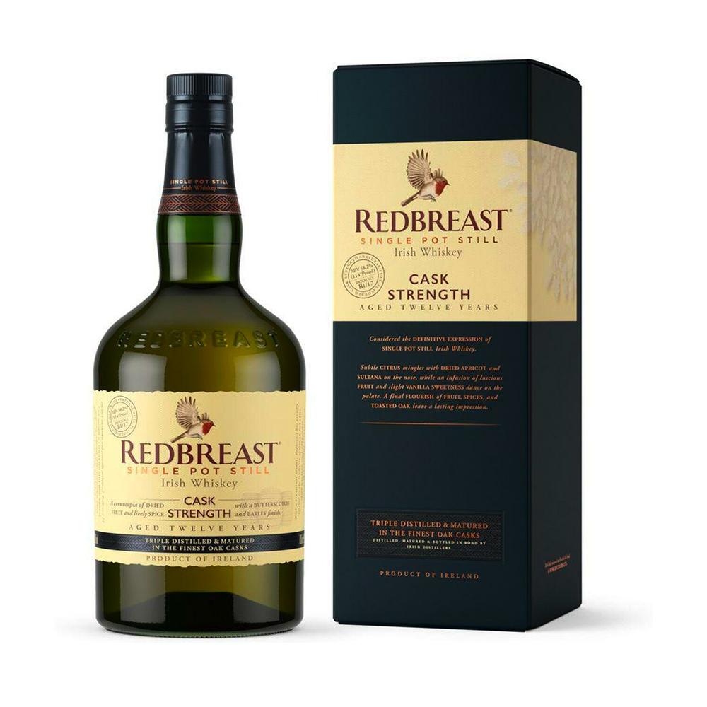 Redbreast 12 Year Old Cask Strength Irish Whiskey 700ml