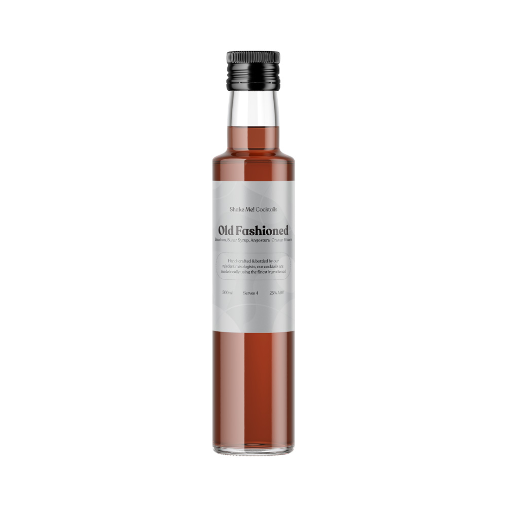 Shake Me! Cocktails Old Fashioned 500ml
