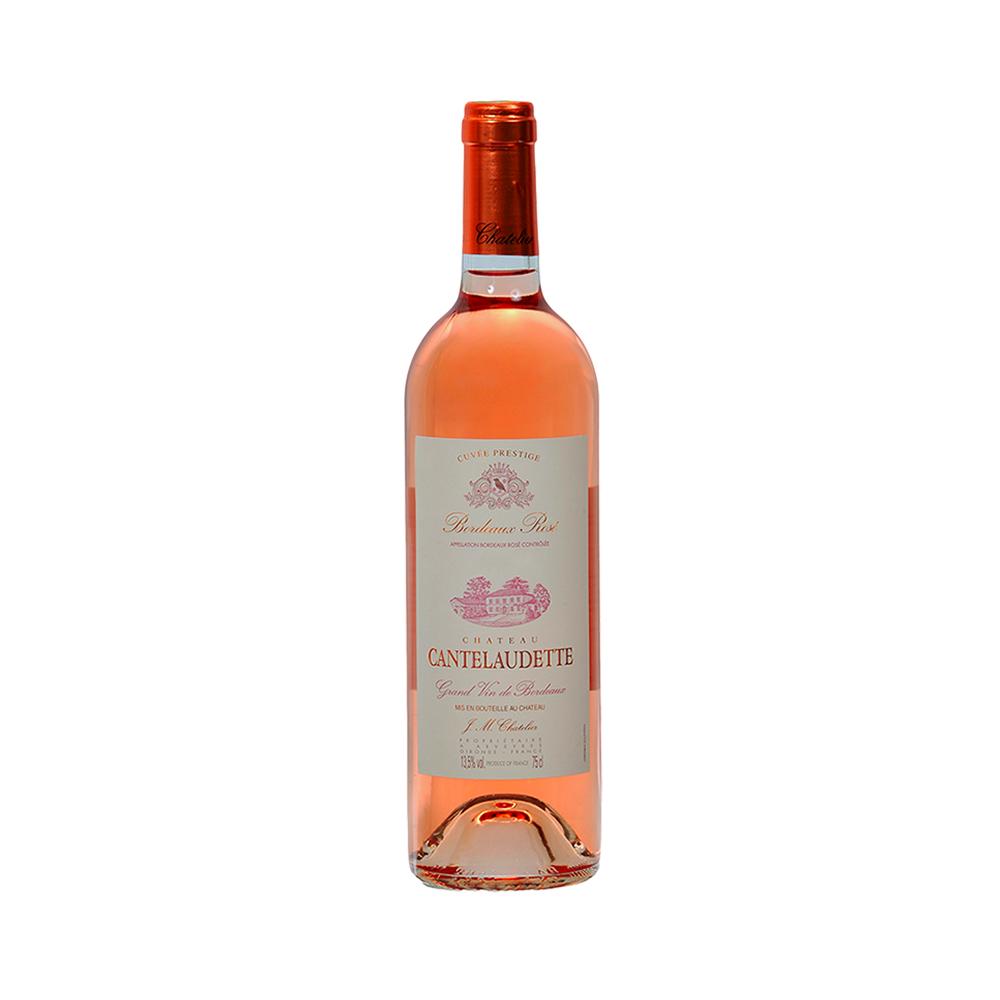 Chateau Cantelaudette Bordeaux Rosé