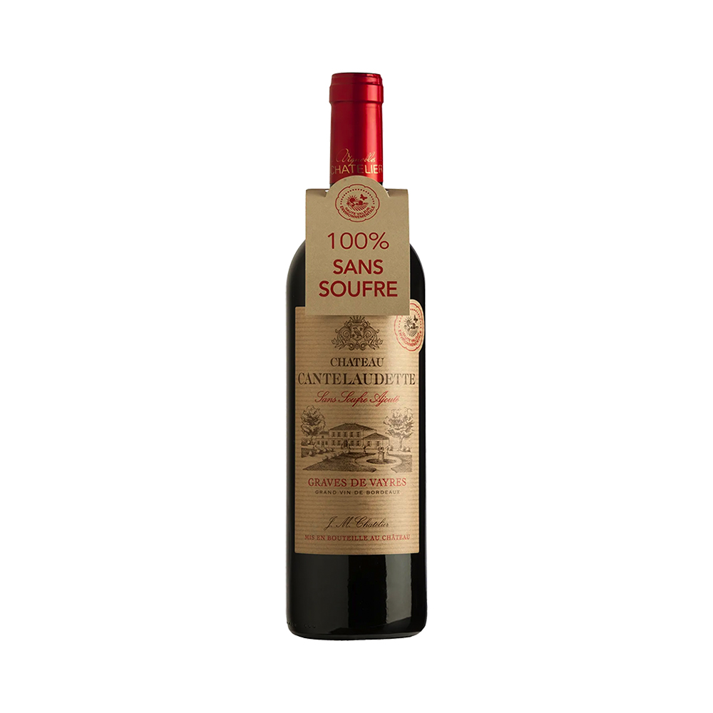 Chateau Cantelaudette Sulphur Free Red