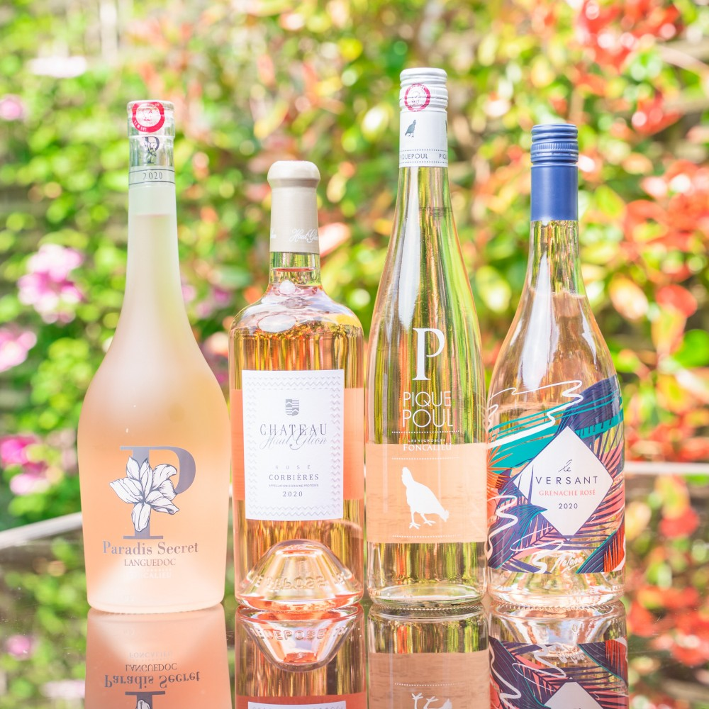 Southern French Rosé Discovery Pack & Virtual Tasting (June 17th)