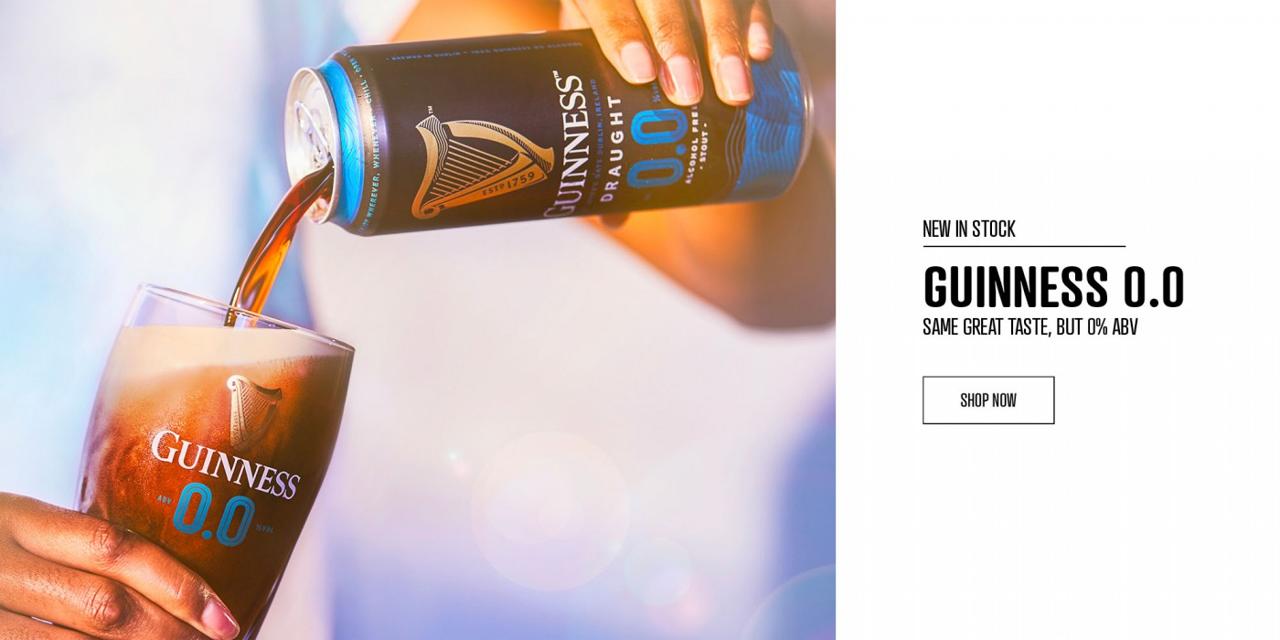 Guinness 0.0 Can
