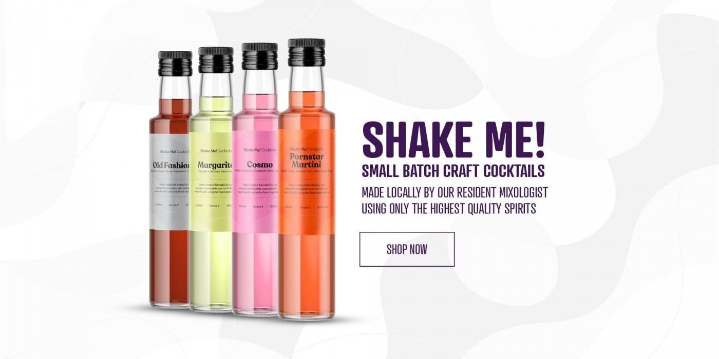 McHugh's Shake Me! Cocktails